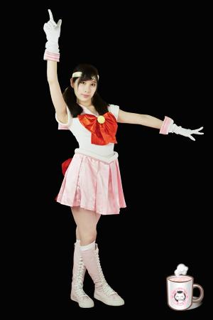 Heroine No.010 セーラーピーチ (葉月桃)Sailor Peach (Momo Hazuki)
