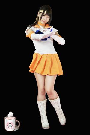 Heroine No.004 セーラーオレンジ (水嶋アリス)Sailor Orange (Arisu Mizushima)