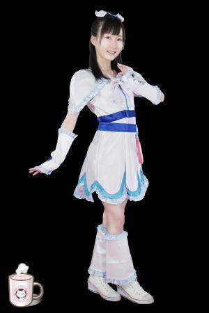 Heroine No.022 ピュアホワイト (あまね弥生) Pure White (Yayoi Amane)